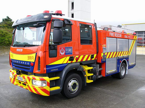 New Zealand fire engines